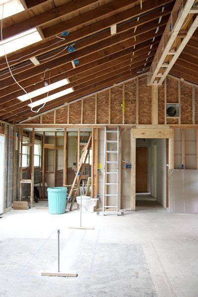 vaulting  ceiling rancher renovations pinterest