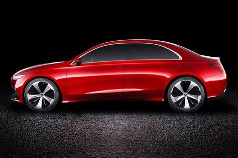 mercedes sedan mercedes concept a sedan previews