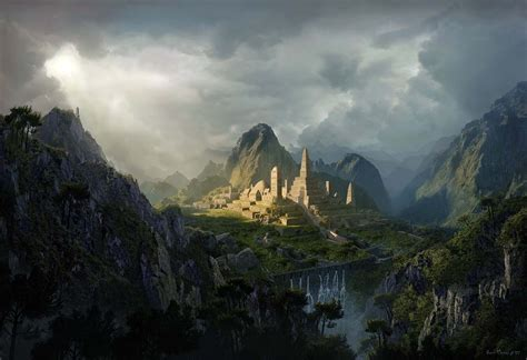 matte painting in photoshop tutorial create an epic digital matte painting