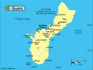 Guam World Map by World Map Showing Guam Pictures To Pin On Pinterest