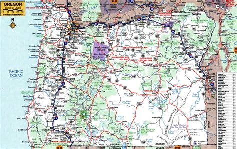 map of oregon cities road map of oregon jorgeroblesforcongress