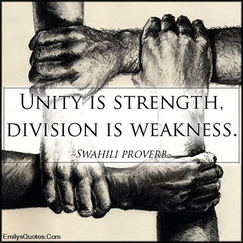 unity quotes unity is strength quotes quotesgram