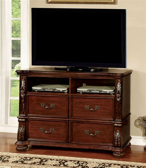 Arthur Brown Furniture by Arthur Brown Cherry Media Chest From Furniture Of America