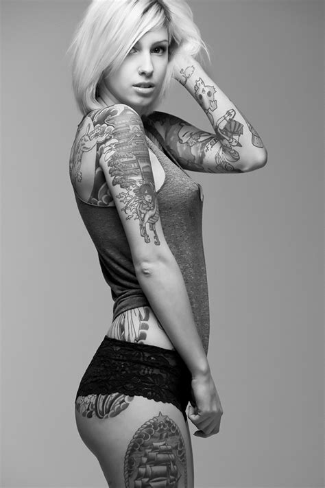 tattoo on hot body inked pinups beautiful girls with tattoos pinups nude