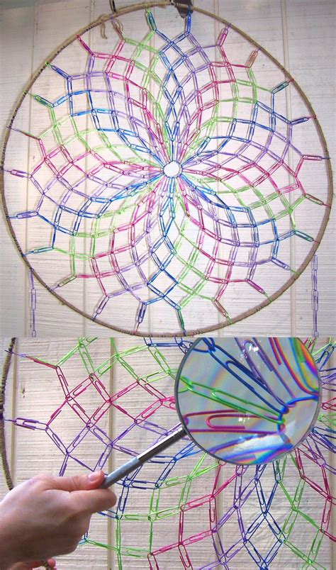 How To Make A Paper Dreamcatcher - paperclip dreamcatcher by jpcopper on deviantart