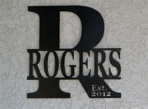 Handmade Metal Signs - best 25 custom metal signs ideas on custom