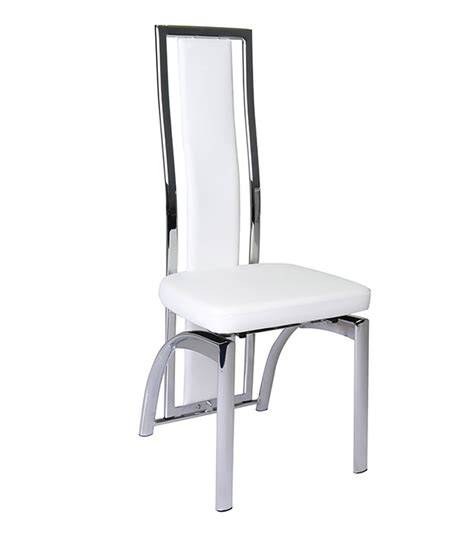 White High Back Dining Chairs White High Back Dining Chairs White High Back Dining Chairs Astat Co Pair Of High Back Dining