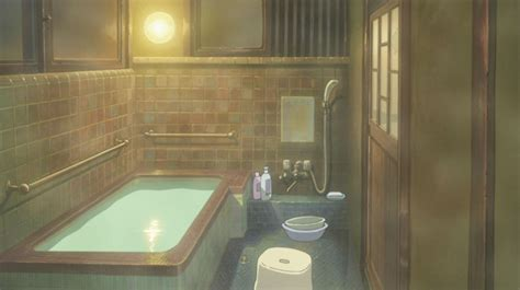 In Bathroom Anime by