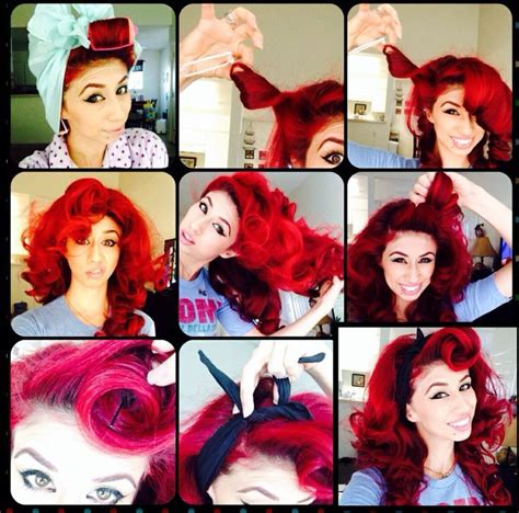 Pin Up Hairstyle Tutorial by Pin Up Hairstyles Tutorial Www Pixshark Images