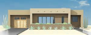 contemporary adobe house plan 61custom contemporary adobe house plan with 2982 square feet and 4 bedrooms from