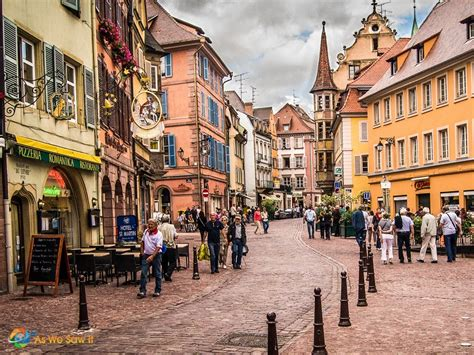 colmar and the beast the prettiest town in alsace