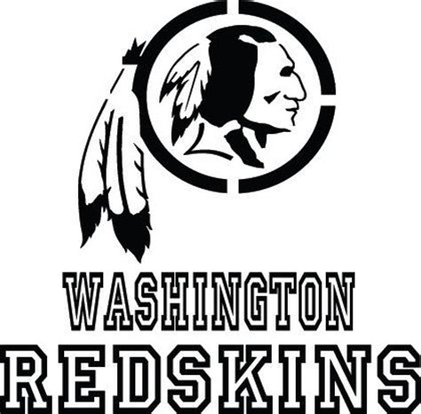 washington redskins small over large mirror license plate