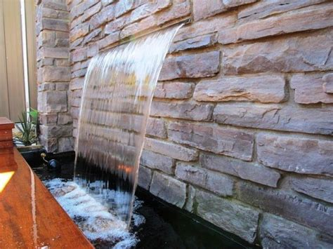water wall 10 stoned water walls for the outdoors rilane