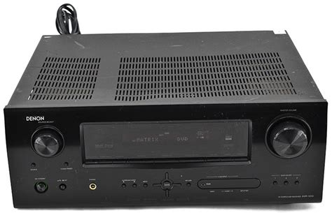 denon avr 1910 home theater system hdmi 7 1 channel