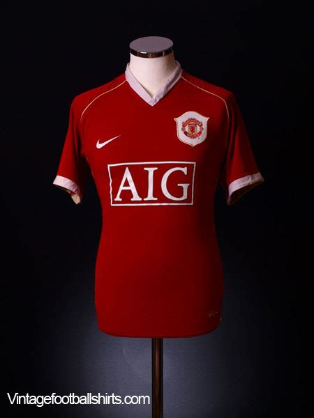 1988 90 manchester united home shirt s for sale