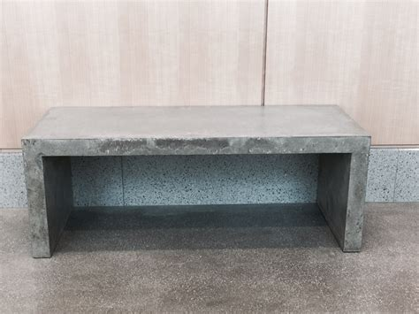 cement table and benches concrete benches for banning justice center in california