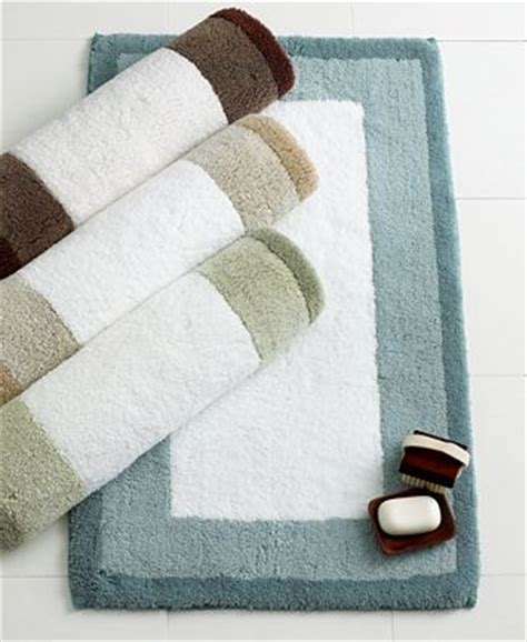 Hotel Collection Bathroom Rugs Hotel Collection Colorblock Rug Bath Rugs Bath Mats Bed Bath Macy S