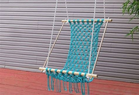 how to make a hammock swing macrame hammock chair images