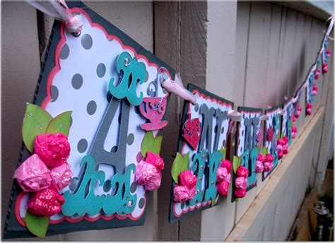 Handmade Birthday Banners - handmade banner custom made go green name banner happy