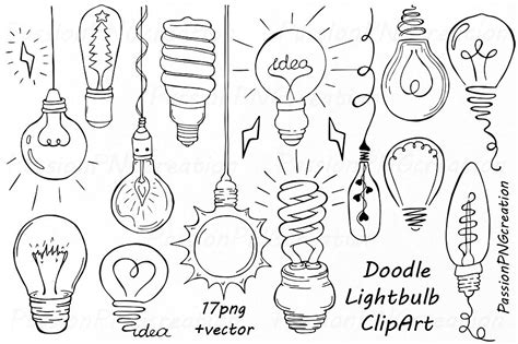 deb s doodle do coloring book two books doodle light bulb clipart illustrations creative market