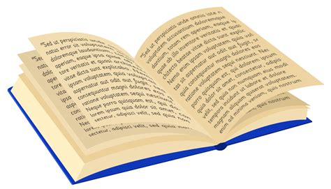 a book with pictures open book with words clipart clipartxtras