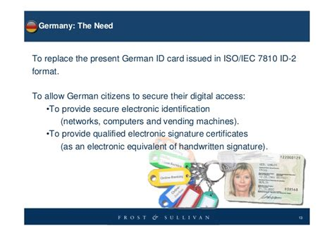 german id card template national id cards and electronic identity documents route