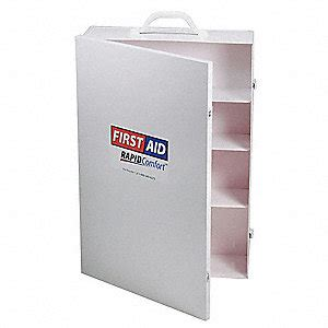 wall mounted first aid cabinet empty rapid comfort empty first aid cabinet metal white 3jmf1
