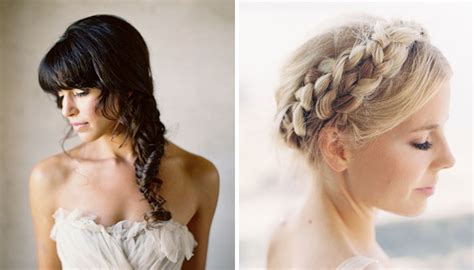 Wedding Hairstyles Side Braid by Say I Do To These Unconventional Wedding Hairstyles