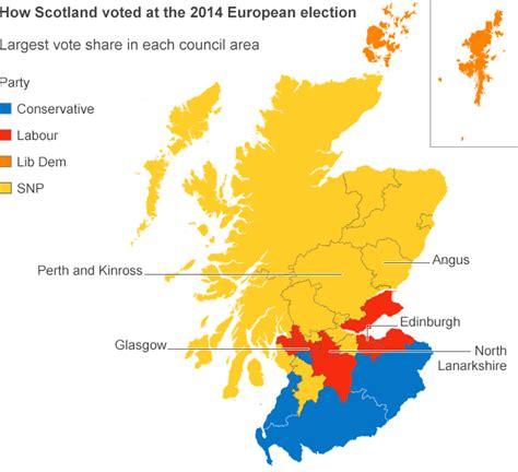 map uk eu referendum in maps how was the scottish referendum vote