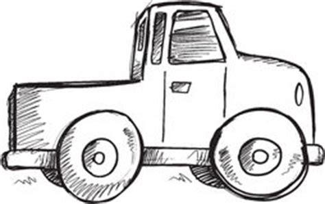 doodle truck free doodle truck vector stock vector image 54208552