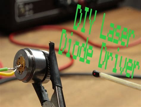 laser diode diy diy laser diode driver constant current source 171 dangerous prototypes