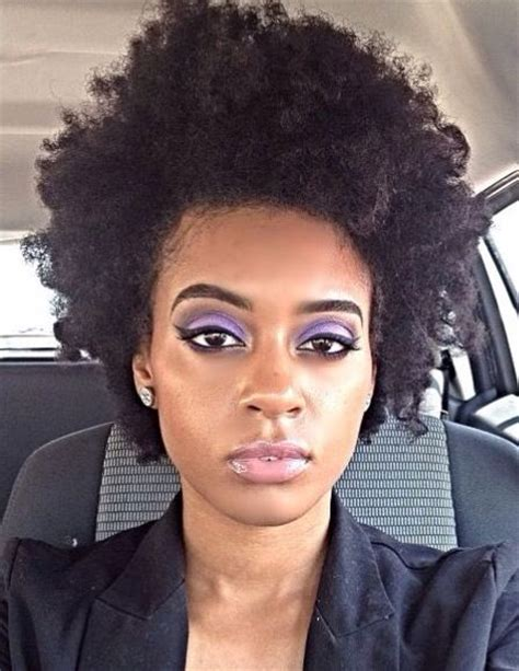 fro hairstyle curly fro natural hair makeup afro natural hair