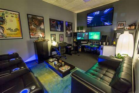 simple brilliant gaming room ideas exooto media