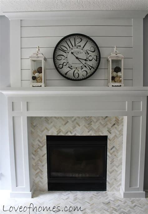 herringbone tile fireplace diy fireplace surround tile woodworking projects plans