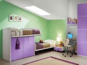 decoration green purple kids bedroom paint ideas kids