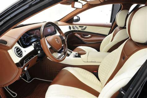 Mercedes Brabus Interior by Brabus Leather Alcantara Interior Trim Mercedes