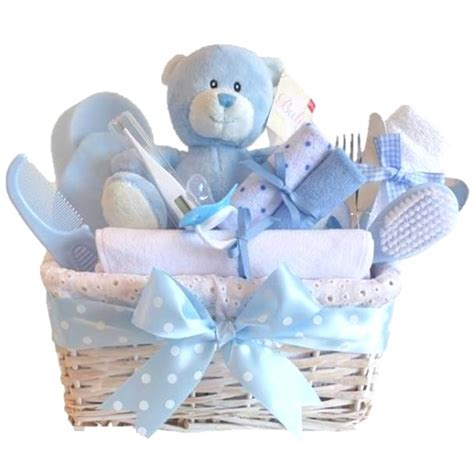 Baby Shower Gifts by Deluxe Baby Boy Gift Basket Baby Boy Gift Hers