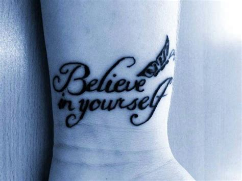 believe in yourself tattoo believe in yourself ideas tattoos