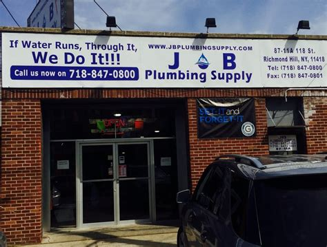 JB Plumbing & Building Supply   CLOSED   Hardware Stores   87 11 A 118th St, Richmond Hill