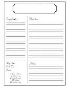 17 best images about printables on pinterest recipe printable recipe template 2016 pinterest