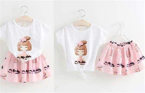 Baju Setelan Anak Mini Soldier setelan baju rok mini anak perempuan model terbaru