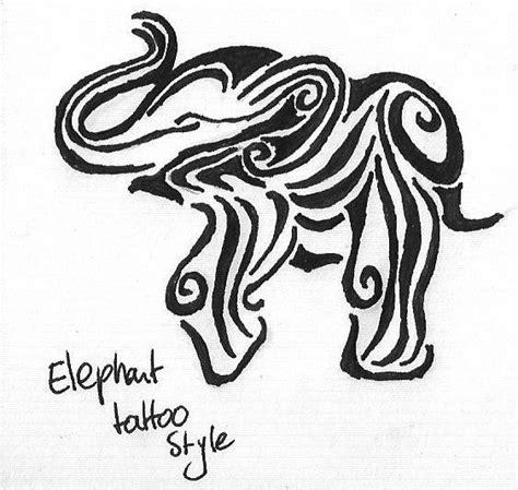 tribal elephant tattoos elephant images designs