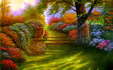 Garden Of Quality Garden Wallpapers High Quality Free