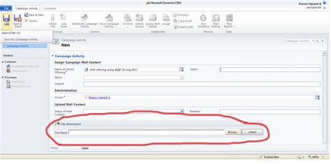 newest dynamics crm 2011 questions stack overflow dynamics crm how to add file attachment in caign form
