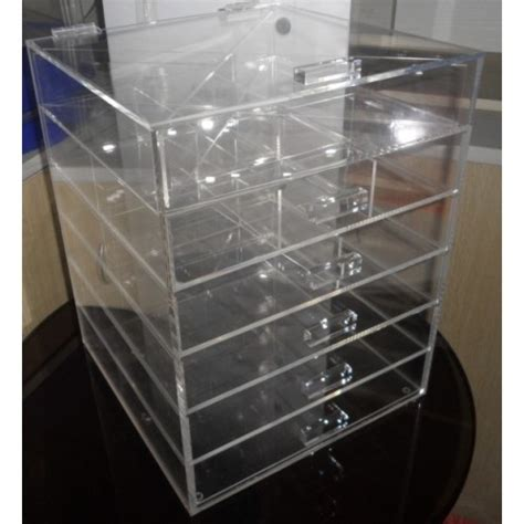 Acrylic Make Up 2 Drawer Akrilik object moved