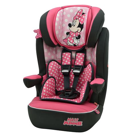 best car seat for 9 months plus disney minnie mouse pink dots imax car seat 1 2 3