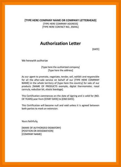 authorization letter format to sell car 10 authorization letter to sell our products tech