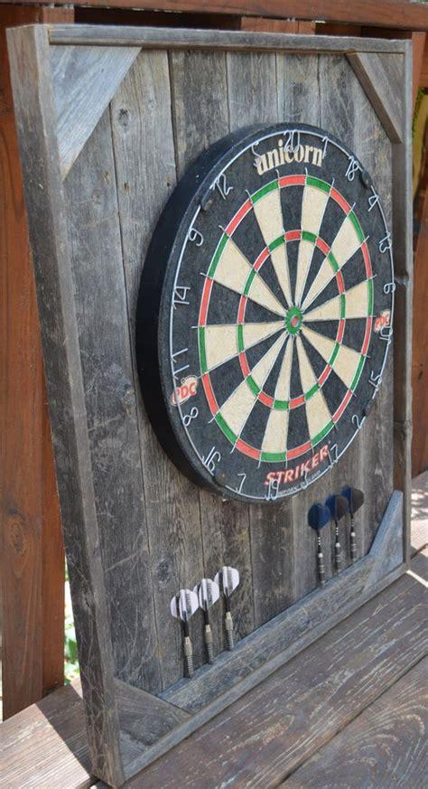 Outdoor Dart Cabinet by Dart Board Backboard Cabinet Barnwood By