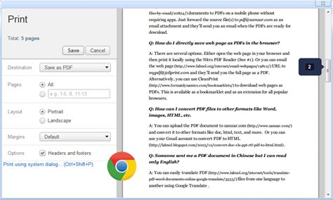 how to my as a service save web pages as pdfs without installing extensions