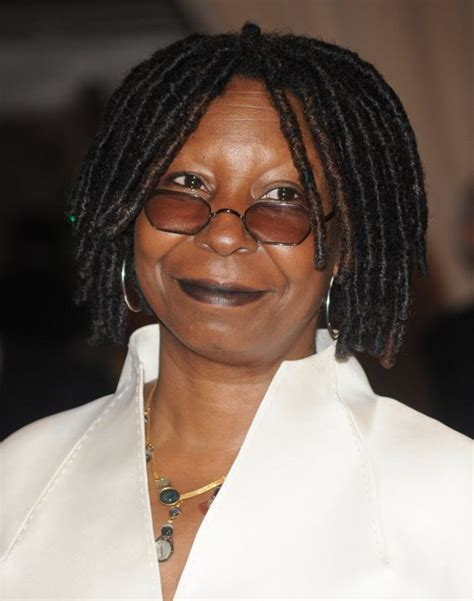 whoopi goldbergs shaved hair whoopie goldberg has that signature hair but what